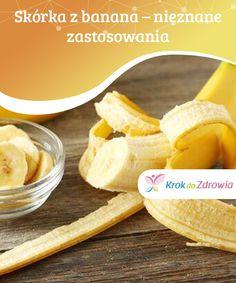 #Skórka z banana – nieznane #zastosowania  Skórka od banana może być stosowana #wewnętrznie oraz zewnętrznie w #leczeniu różnego rodzaju chorób. Jest ona #bardzo skuteczna w usuwaniu linii mimicznych, a #także zmarszczek.