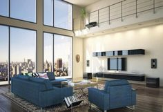Ever dream of the open-space floor plan typically found in urban lofts. Please enjoy these helpful tips for decorating in that style. #loftliving