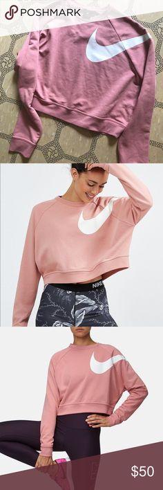 Nike cropped sweater Nike cropped sweater . NWT Nike Sweaters Crew & Scoop Necks