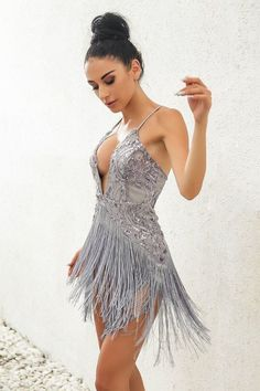 Size Bust Waist Length S M L sequins deep V Neck sexy Women Dress Lace Tassel mini Dresses Summer Backless night Club Party slim Girls Vestidos Mode Outfits, Dance Outfits, Fashion Outfits, Fashion 2018, Salsa Dress, Salsa Outfit, Homecoming Dresses, Wedding Dresses, Latin Dance Dresses