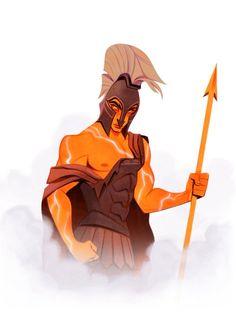Greek Mythology Tattoos, Greek Mythology Art, Roman Mythology, Greece Mythology, Achilles And Patroclus, Roman Gods, Greek Gods And Goddesses, Fanart, Lore Olympus
