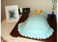 Héctor Leonidas's baby shower #babyshower #cake #babyboy #bellycake #bluecake #marmolcake