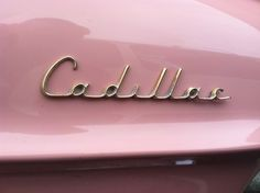 Pink Cadillac. Every Mary Kay consultant's dream ride.