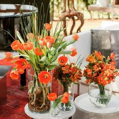 Bom dia! Com as flores do espaço Garage Lounge Renault por Camila Klein em Casa Cor por @afloristamb #bomdia #flores#