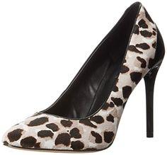 Nine West Women's Yellia Pony Dress Pump, Grey Kenya Cheetah/Black, 9.5 M US. $21.95