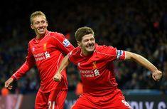 Steven Gerrard Photos: Leicester City v Liverpool