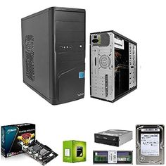 PC desktop completo assemblato AMD Sempron 145 4GB DDR3 HD 500 GB: Amazon.it: Informatica