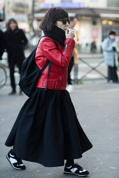 The Red Coats Are Coming! Plus, 12 Other Comme des Garçons Street Style Hits