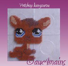 Littlest Pet Shop hama perler by aux4mains