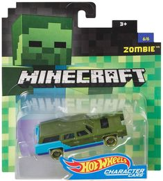 Check out the Minecraft Hot Wheels Zombie Vehicle at the official Hot Wheels website. Explore the world of Hot Wheels Minecraft today! Minecraft Hot Wheels, Minecraft Car, Minecraft Crafts, Minecraft Stuff, Minecraft Skins, Minecraft Buildings, Zombie Vehicle, Bath N Body Works, Toy Cars For Kids