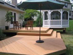 pictures of decks and patios | Decks, Patios, Fences, Screened Porches | Skye Builders: Custom ...