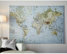Big atlas / map for the sitting room wall