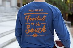 Navy w/Orange Long Sleeve | Volunteer Traditions