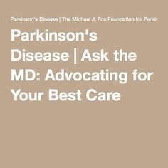 Where can i find a lot of good information on parkinson's disease?
