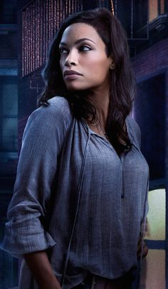 Rosario Dawson Returning for Season 2 of Daredevil and More - MTR Network Marvel's Daredevil, Claire Temple, Death Proof, Josie And The Pussycats, Afro Cuban, Rosario Dawson, Beautiful Black Women, Simply Beautiful, Places