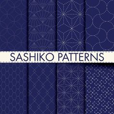 Japanese Embroidery Designs sashiko quilting tutorial - Here's a Sashiko Quilting Tutorial. Sashiko is a type of traditional Japanese embroidery. It started out as a way to strengthen cotton and linen fabrics. Crewel Embroidery Kits, Hardanger Embroidery, Japanese Embroidery, Learn Embroidery, Hand Embroidery Patterns, Machine Embroidery Designs, Embroidery Thread, Cushion Embroidery, Beginner Embroidery