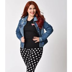 Plus Size Retro Style Long Sleeve Distressed Button Up Denim Jacket ($48) ❤ liked on Polyvore featuring plus size women's fashion, plus size clothing, plus size outerwear, plus size jackets, blue, denim jacket, women's plus size denim jacket, distressed denim jacket, white denim jacket and women's plus size jackets