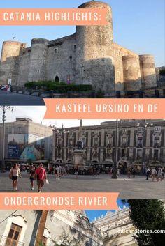 Lees in deze blog over twee bijzondere highlights welke je in Catania, Sicilië kunt vinden. Catania, Sicily Travel, Cities In Europe, Travel Inspiration, Traveling By Yourself, Travel Tips, City, Dutch, Blog