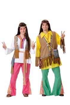 Disfraz de #hippie mujer