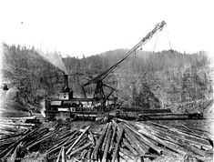 old logging machinery | Steam Power