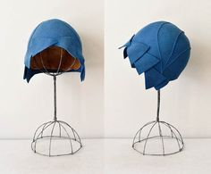 Empire State cloche hat  / felted wool 20s cloche by DearGolden, $184.00