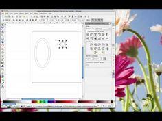 Scan n Cut 'H' Letter Charm monogram video tutorial