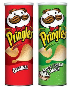 Pringles - Original / Sour Cream & Onion