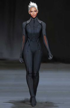 Afrofuturism Art And Cyberpunk - Afrofuturism Cyberpunk Storm X-Men Source by PewPewUrDead - Mode Cyberpunk, Cyberpunk Fashion, Cyberpunk Kunst, Futuristic Outfits, Super Heroine, Future Fashion, Character Outfits, Costume Design, Ideias Fashion