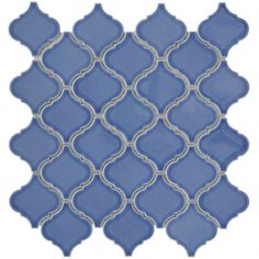 Shop for SomerTile Morocco Blue Porcelain Mosaic Tile (Pack of Get free delivery On EVERYTHING* Overstock - Your Online Home Improvement Shop! Moroccan Design, Moroccan Decor, Decoration, Home Improvement, Mosaic, Porcelain, Indoor, Morocco, Tile