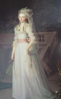 Marie Antoinette, Reine de France. (XVIIIe Siècle)