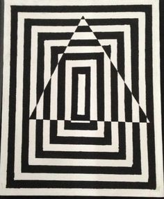Triangle illusion (by m_hweldon)  via Mara Hoffman