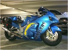 San Diego Chargers / Now That bike will BOLT~!   May the BoLT be with You~! ~*~moonmistgirl~*~