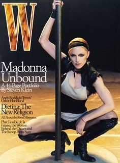 Madonna, April 2003 cover.