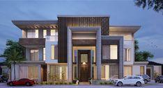 luxury villa in saudi arabia on Behance