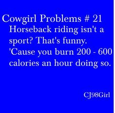 Cowgirl Problems #21