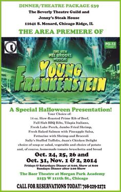 Young Frankenstein Chicago Ridge, Young Frankenstein, Slow Roast, Beef Ribs, Bbq, Presentation, Barbecue, Barrel Smoker