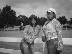 Behold, The Largely Unseen History Of Black Cowboys (And Cowgirls) Stunning black-and-white images of ranchers, riders, calf ropers and herders. Black Cowgirl, Black Cowboys, Cowboy And Cowgirl, Rodeo Cowboys, Cowboys And Indians, Cowgirl Style, Cowgirls, Hyung Tae Kim, Gil Scott Heron