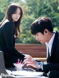 "[Drama] Dispatch goes behind-the-scenes of ""The with Ji Chang Wook O Drama, Drama Film, Yoona Drama, Korean Celebrities, Korean Actors, Korean Dramas, Yoona Ji Chang Wook, The K2 Korean Drama, Ji Chan Wook"