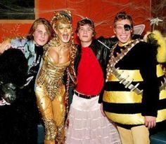 Saudades Hanson no Halloween! Todo mundo querendo fazer pedido pra fada!