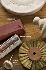 Learn more about jewelry making tools for texturing and polishing.k