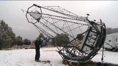 HERRIMAN, Utah – A Utah man has built what may be the largest amateur telescope on record, and the device enables users to view constellations that previously had only been visible to the Hubble Telescope.