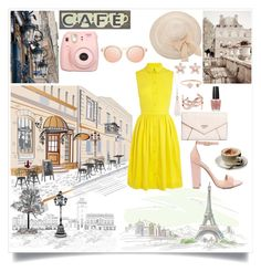 """Parisian Café"" by emerald-star ❤ liked on Polyvore featuring Karen Millen, Steve Madden, GUESS, Oasis, Yves Saint Laurent, Michael Kors, OPI, Parra, emeraldpastel and emeraldlist"