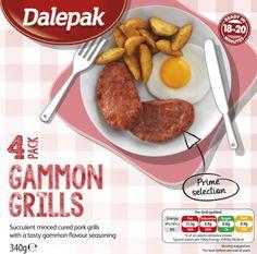 Dalepak 4 colour repro of carton maintaining new branding across the range.