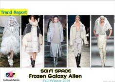 Sci-Fi Space Frozen Galaxy Alien#Fashion Trend for Fall Winter 2014 #Fall2014 #Fall2014Trends #FashionTrends2014 #Winter2014