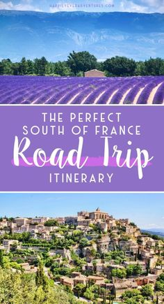 travel destinations road trips The ultimate 10 day south of France road trip itinerary covering the best towns of Provence and the French Riviera. This is everything you need to know when planning south of France travel Europe Destinations, Europe Travel Guide, France Travel, Travel Guides, Road Trip Europe, Budget Travel, Visit France, South Of France, Nice France