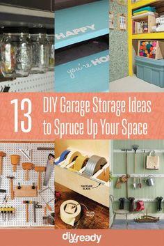 13 DIY Garage Storage Ideas