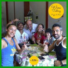 What a Family ad what a plasure! Emoticon heart Oggi dalla Nuova Zelanda è arrivata a provare i nostri prodotti questa simpaticissima famiglia Wine Tasting Experience, Emoticon, Smiley