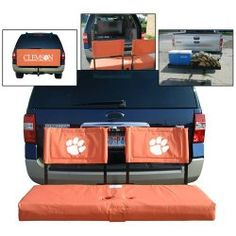 Clemson Tigers NCCA Ultimate Tailgate Hitch Seat