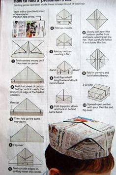Origami Hat                                                                                                                                                                                 More