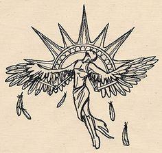 Icarus design (UT6204) from UrbanThreads.com
